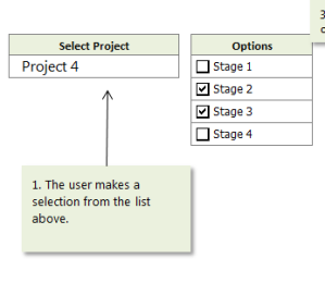 Directly link Excel form controls to backend data with dynamic