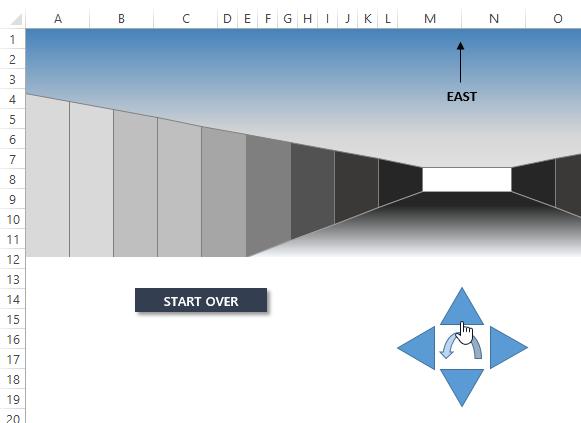 3d Excel Maze.xlsm - Excel